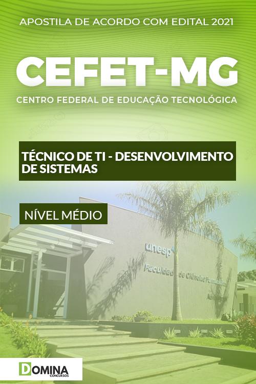 Apostila CEFET MG 2021 Técnico de TI Desenvolvimento Sistemas