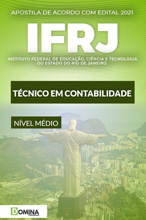 Apostila Concurso Público IFRJ 2021 Técnico em Contabilidade