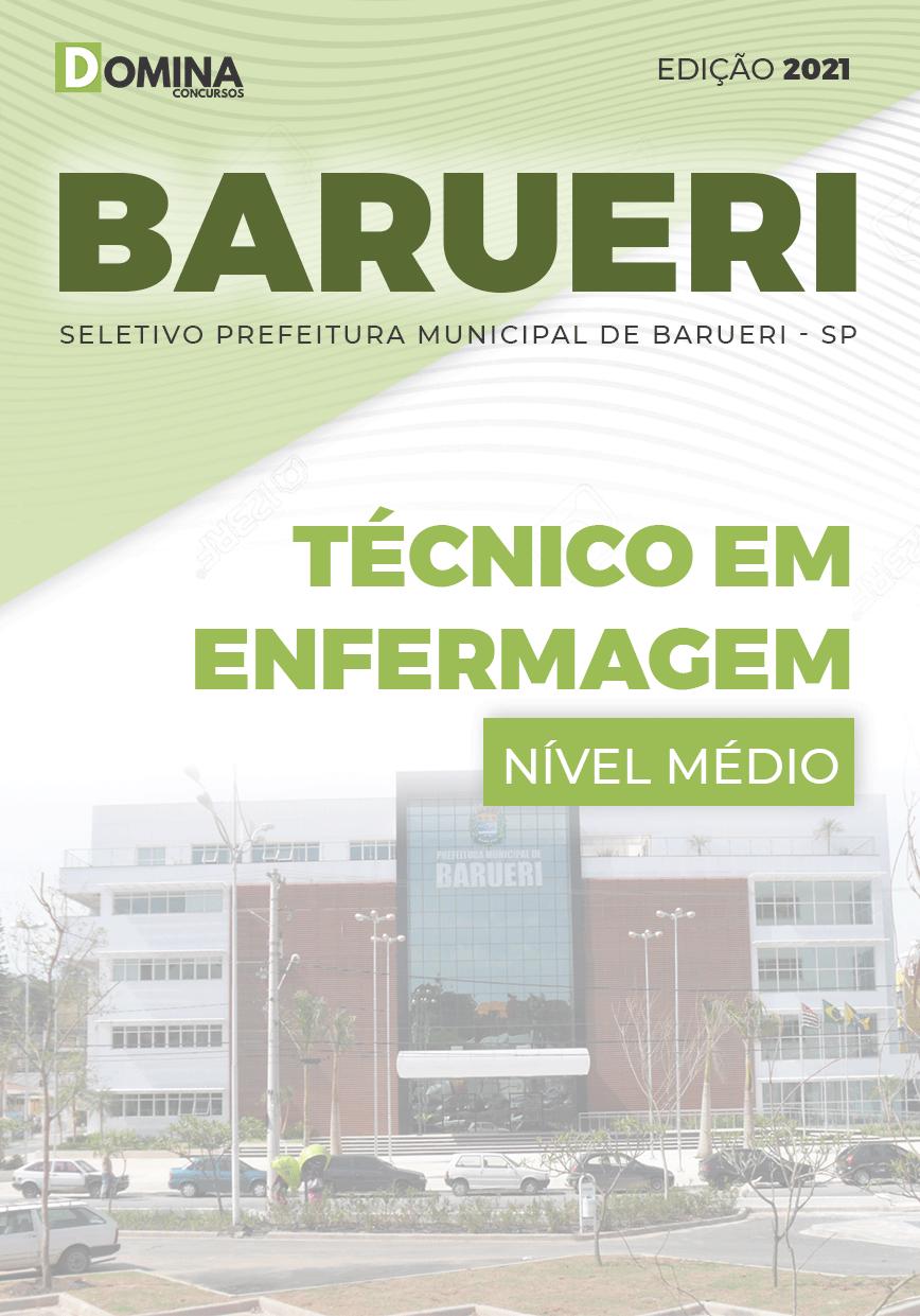 Apostila Concurso Barueri SP 2021 Técnico em Enfermagem