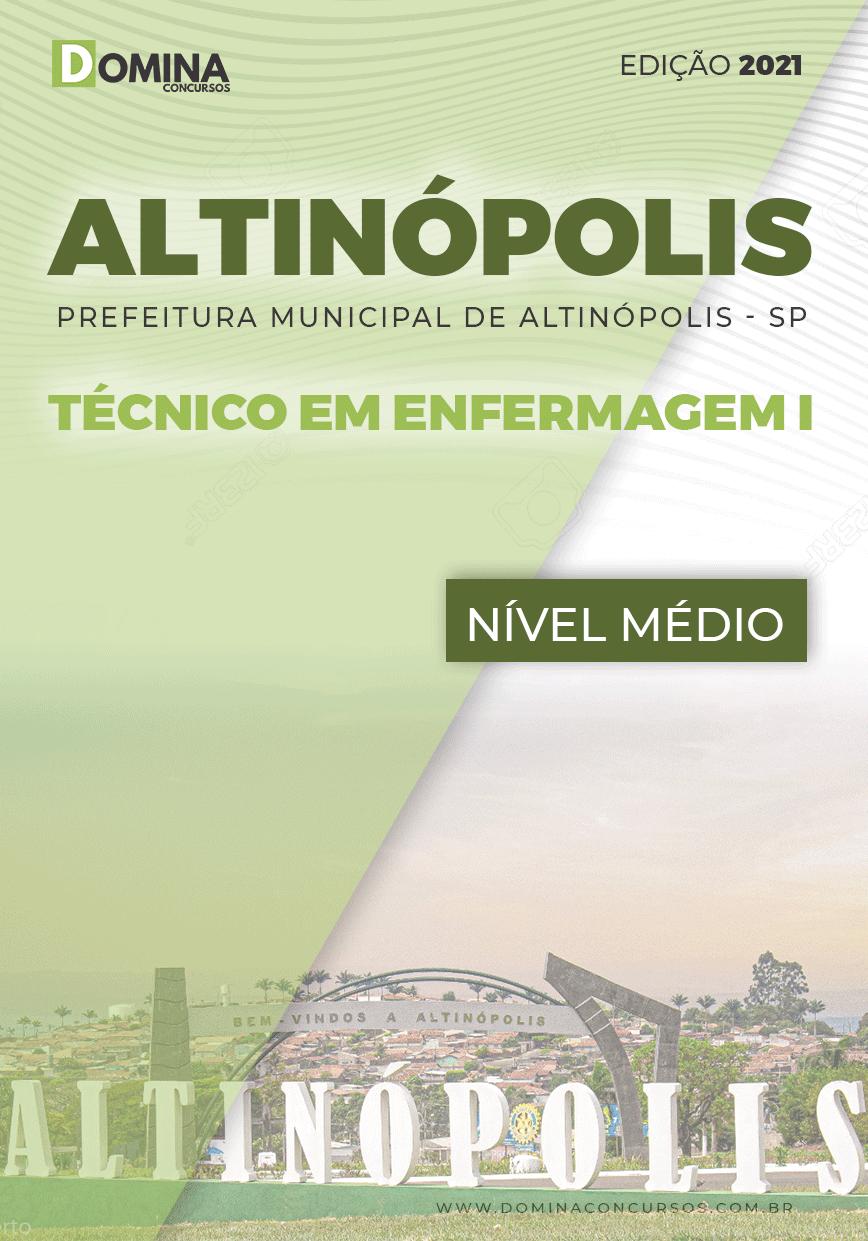 Apostila Pref Altinópolis SP 2021 Técnico em Enfermagem I