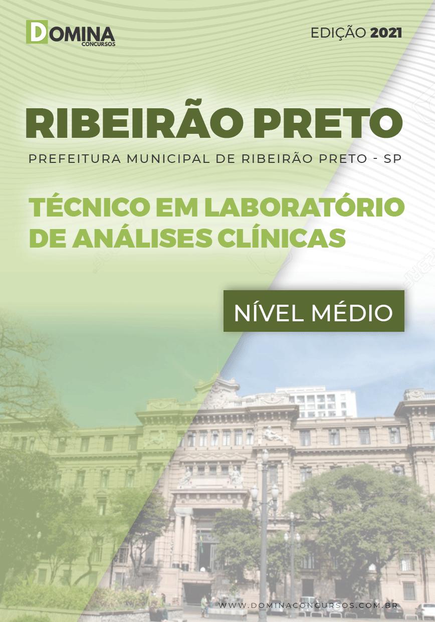 Apostila Pref Ribeirão Preto SP 2021 Técnico Análises Clínicas