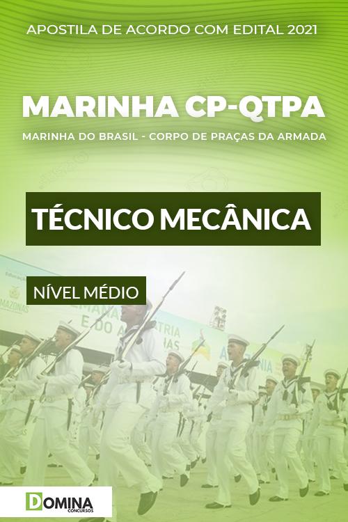 Apostila Concurso Marinha CP QTPA 2021 Técnico Mecânica