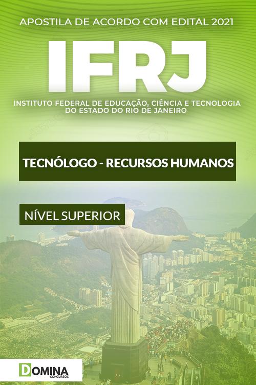 Apostila Concurso Público IFRJ 2021 Técnico Recursos Humanos