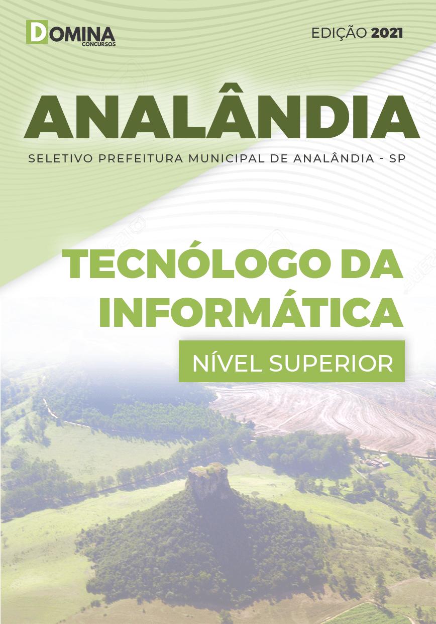 Apostila Pref Analândia SP 2021 Tecnólogo da Informática