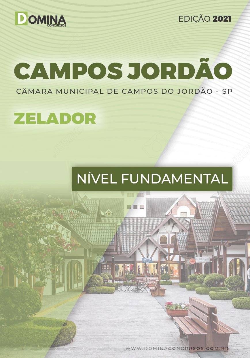 Apostila Concurso Câmara Campos Jordão SP 2021 Zelador