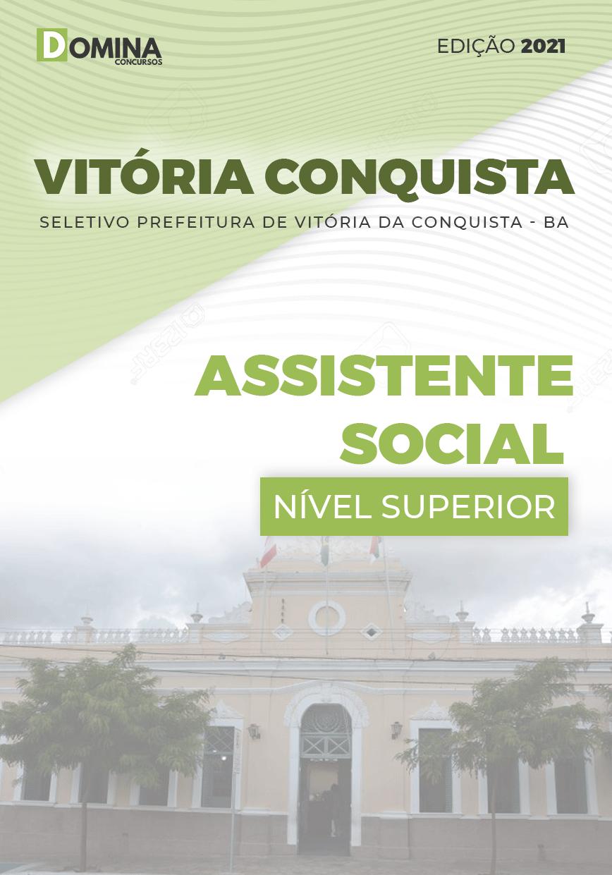Apostila Seletivo Pref Vitória Conquista BA 2021 Assistente Social