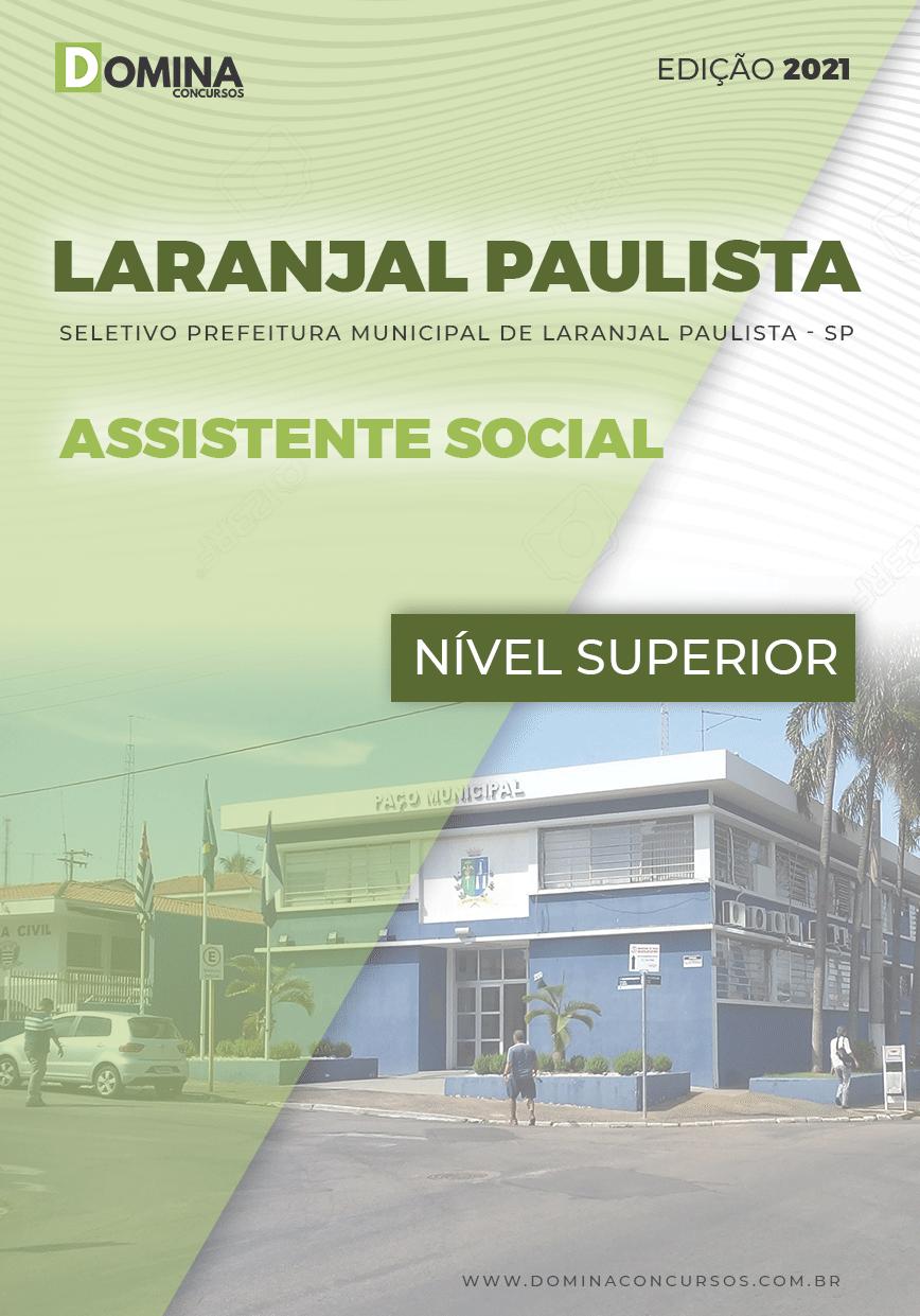 Apostila Pref Laranjal Paulista SP 2021 Assistente Social