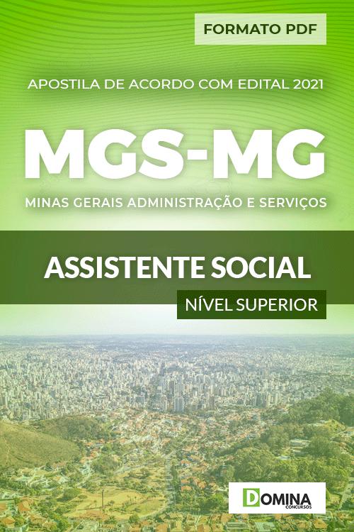 Apostila Processo Seletivo MGS MG 2021 Assistente Social