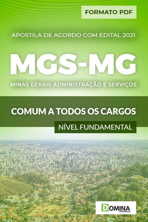 Apostila Seletivo MGS MG 2021 Comum a Nível Fundamental