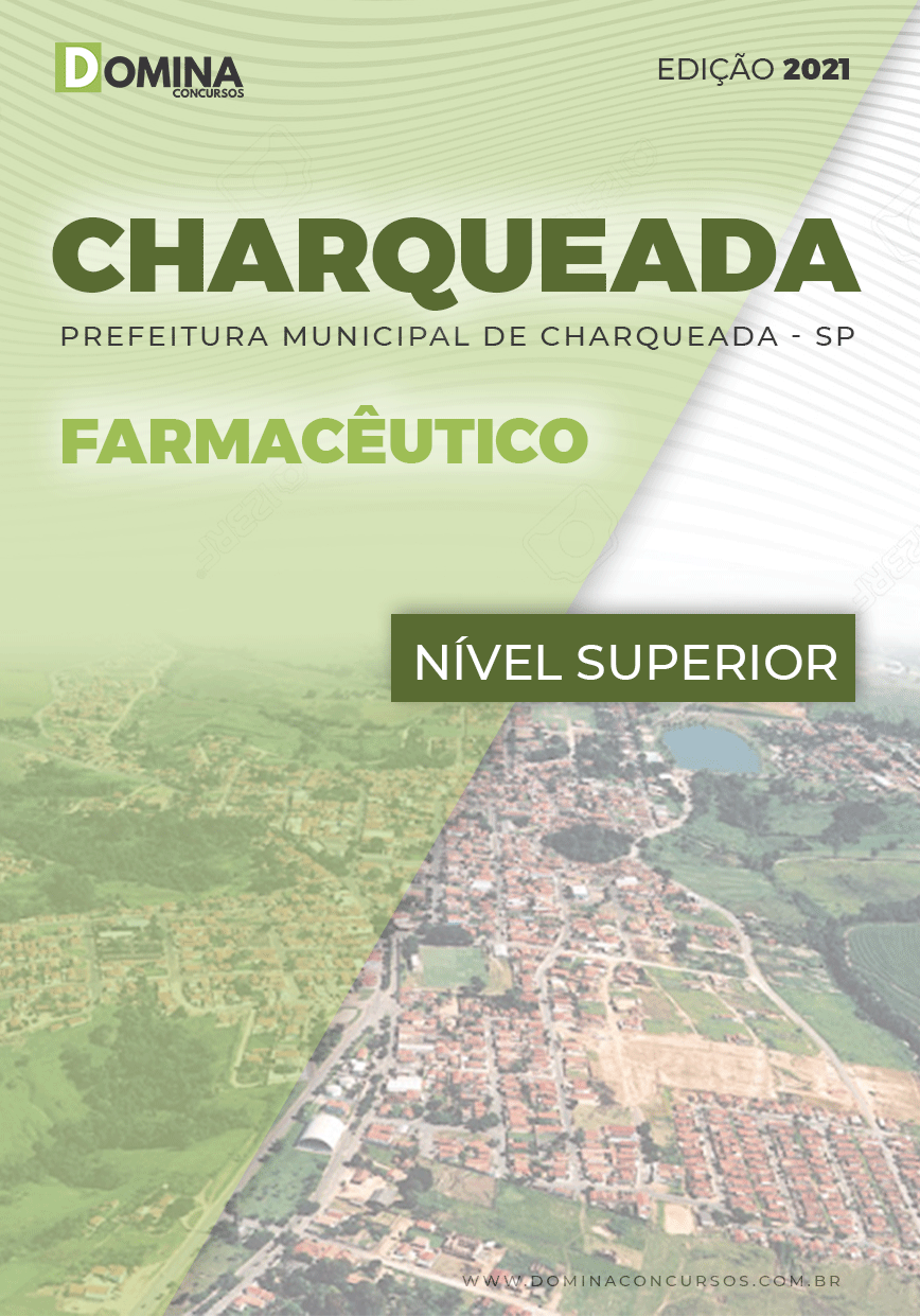 Apostila Concurso Pref Charqueada SP 2021 Farmacêutico