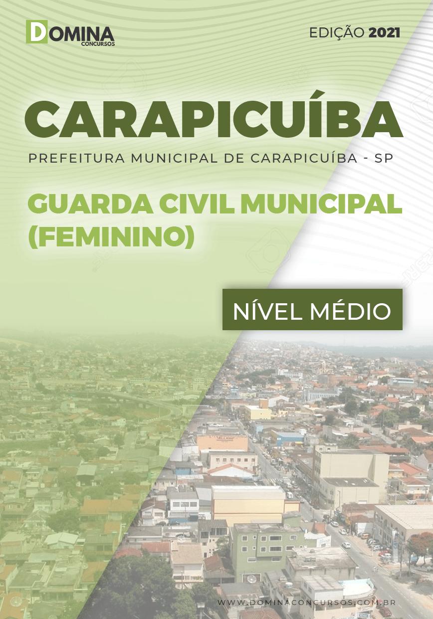 Apostila Pref Carapicuíba SP 2021 Guarda Civil Municipal