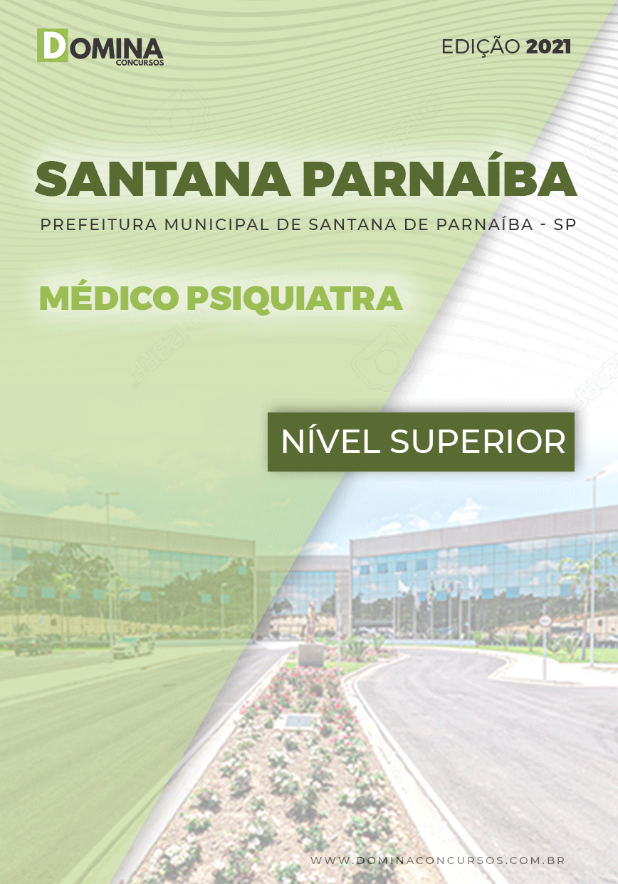 Apostila Pref Santana Parnaíba SP 2021 Médico Psiquiatra