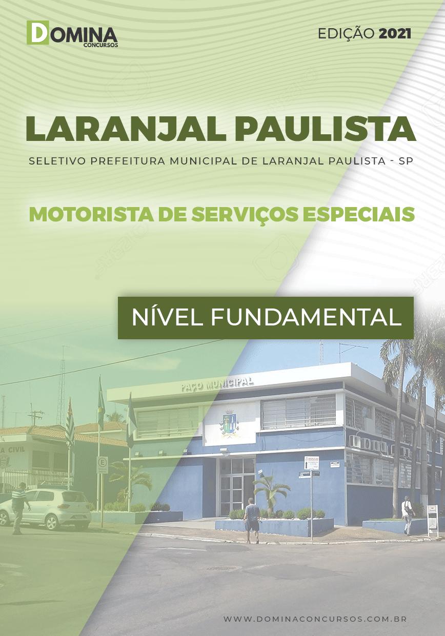 Apostila Pref Laranjal Paulista SP 2021 Motorista de Serviços Especiais