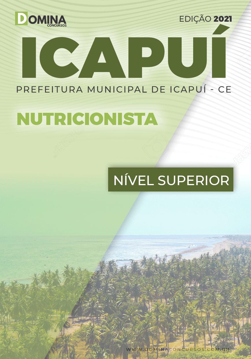Apostila Concurso Público Pref Icapuí CE 2021 Nutricionista