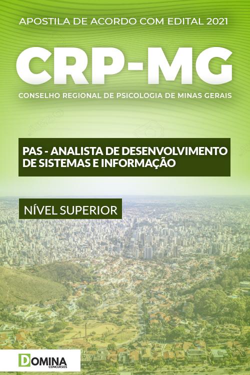 Apostila CRP MG 2021 PAS Analista de Sistemas e Informação