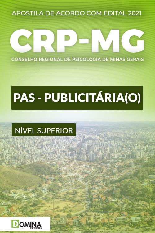 Apostila Concurso Público CRP MG 2021 PAS Publicitário