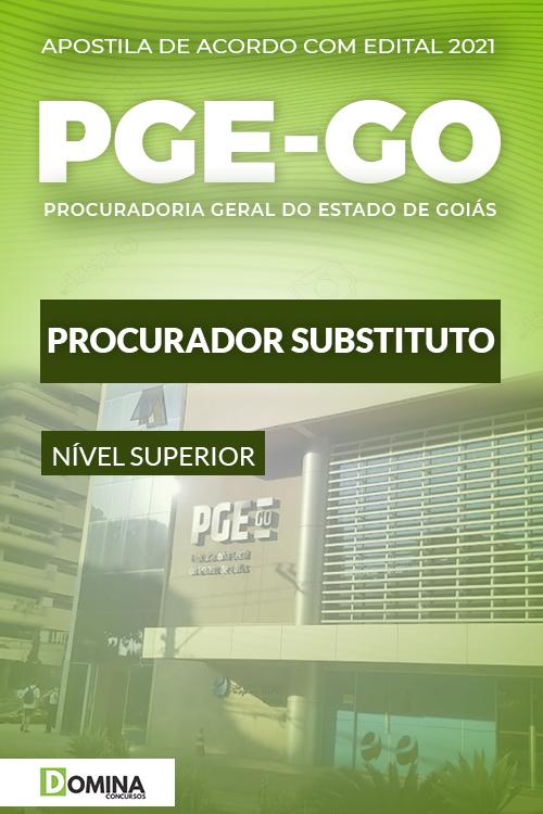Apostila Concurso Público PGE GO 2021 Procurador Substituto