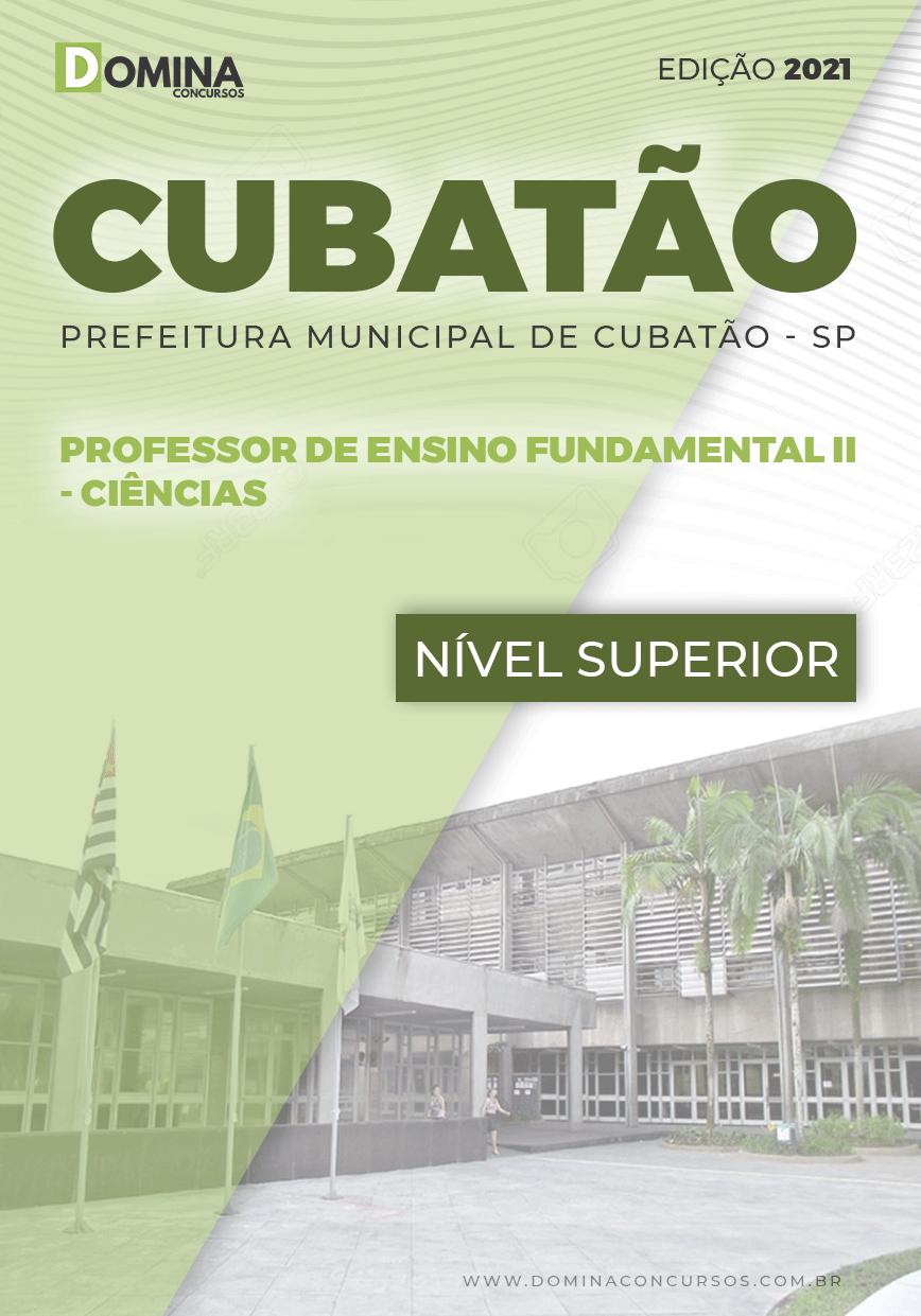 Apostila Pref Cubatão SP 2021 Professor Fundamental II Ciências