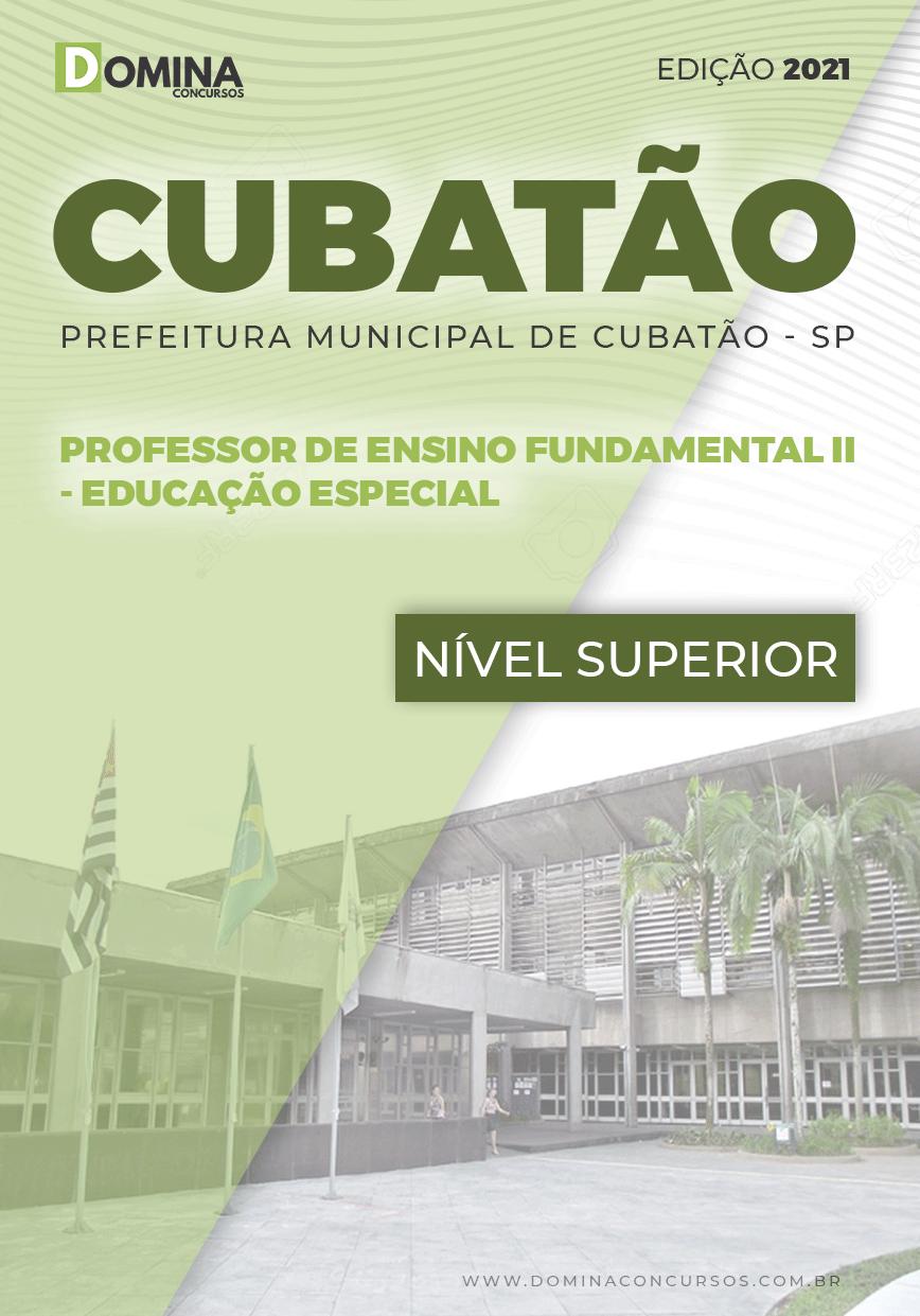 Apostila Pref Cubatão SP 2021 Prof Fundamental II Educação Especial