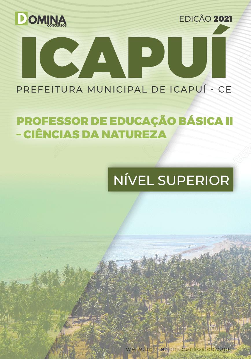 Apostila Pref Icapuí CE 2021 Professor II Ciências da Natureza