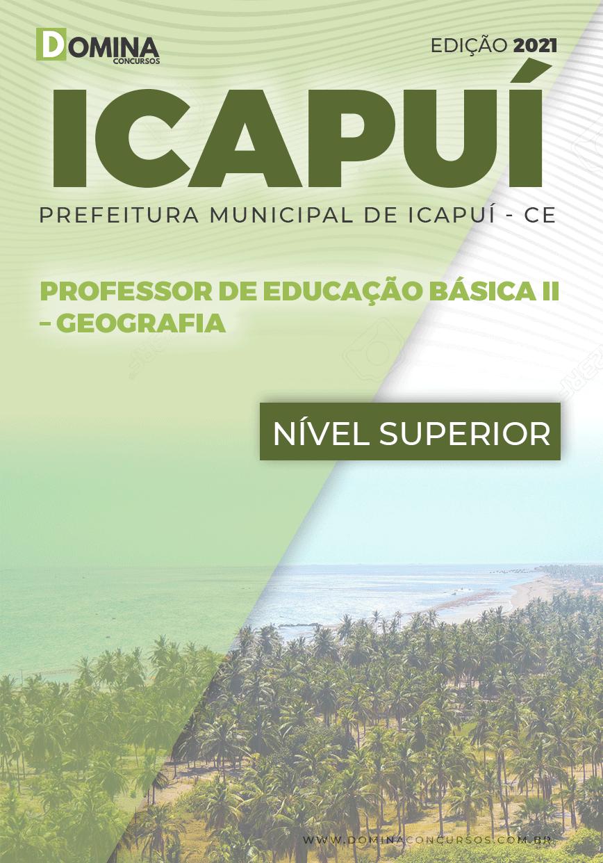 Apostila Concurso Pref Icapuí CE 2021 Professor II Geografia