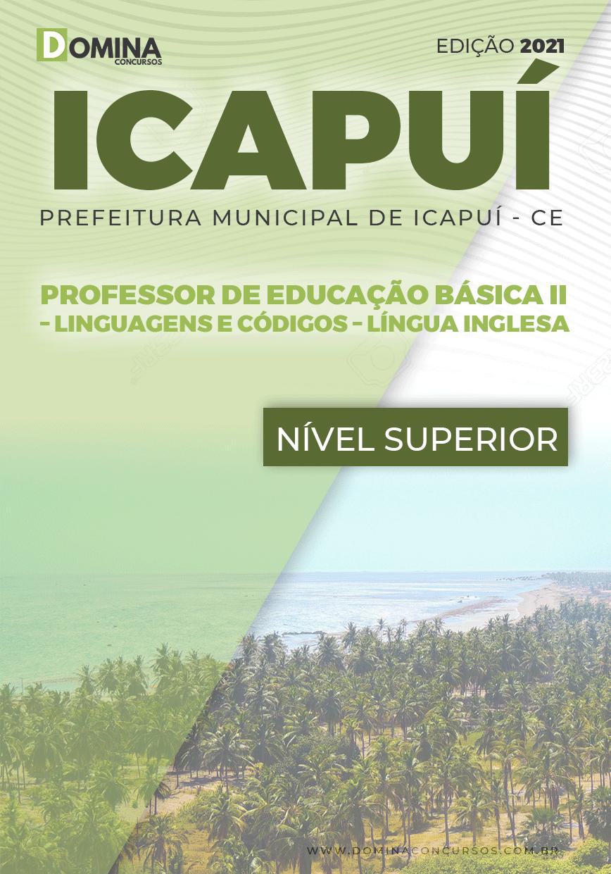 Apostila Pref Icapuí CE 2021 Professor II Língua Inglesa