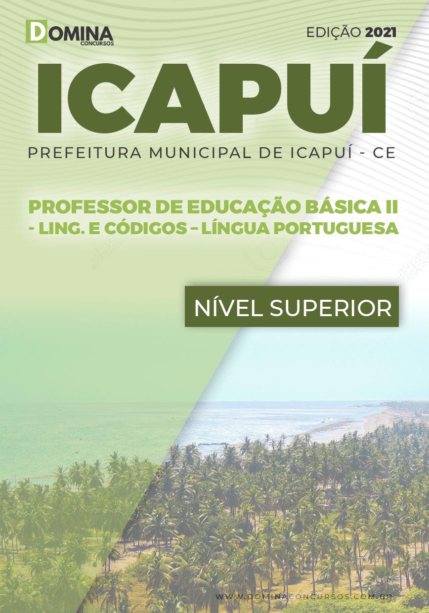 Apostila Pref Icapuí CE 2021 Professor II Língua Portuguesa
