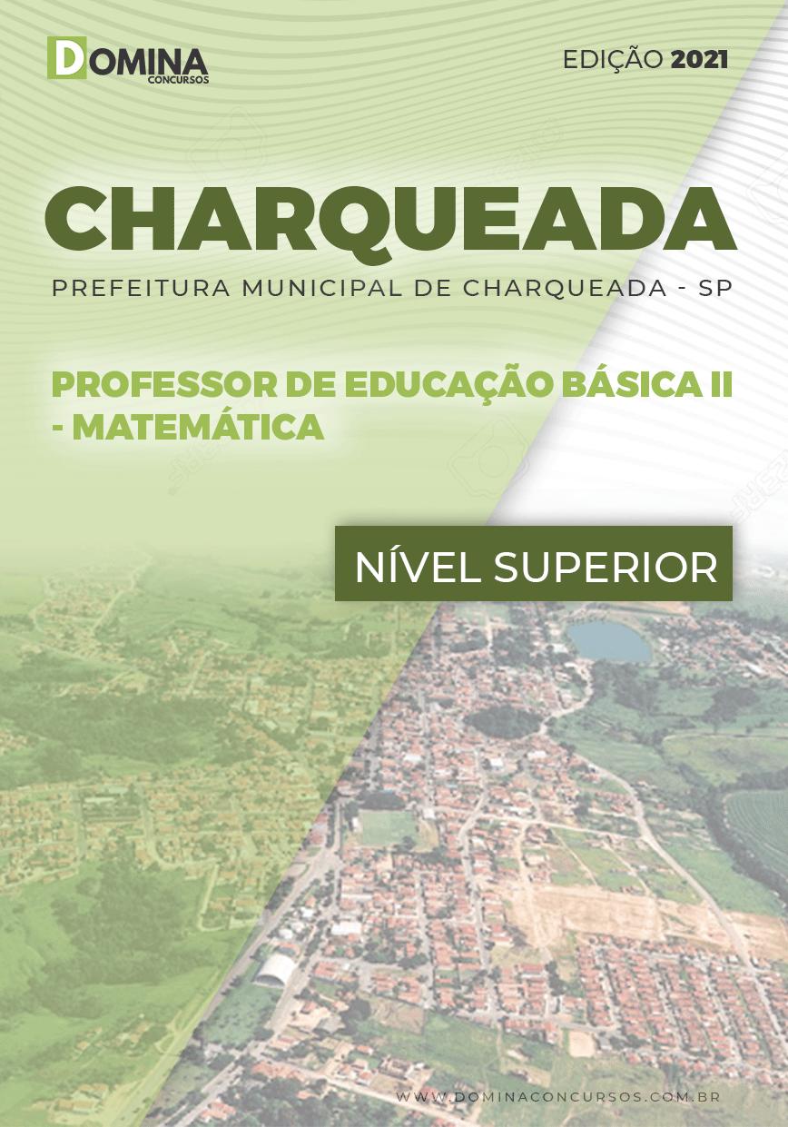 Apostila Pref Charqueada SP 2021 Professor II Matemática