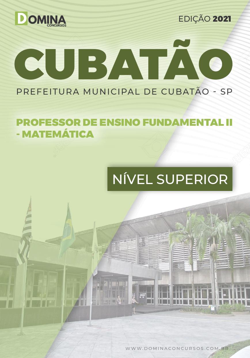 Apostila Pref Cubatão SP 2021 Prof Fundamental II Matemática