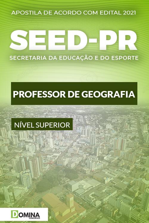 Apostila Seletivo SEED PR 2021 Professor de Geografia