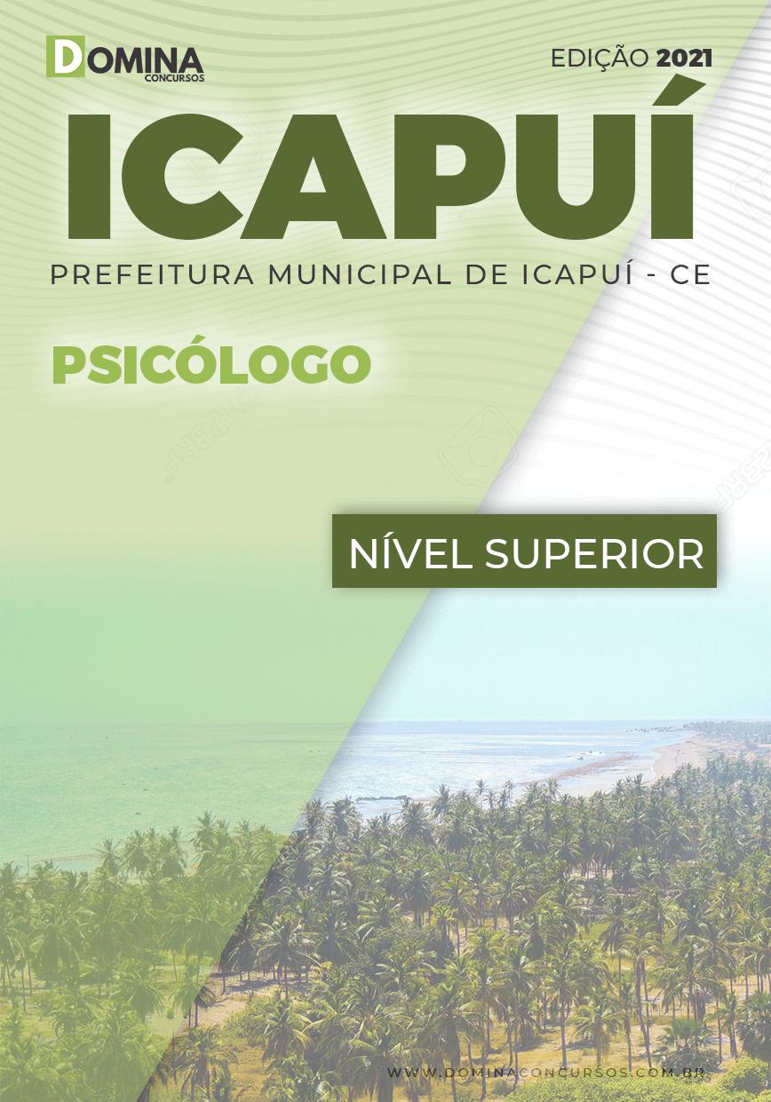 Apostila Concurso Público Pref Icapuí CE 2021 Psicólogo
