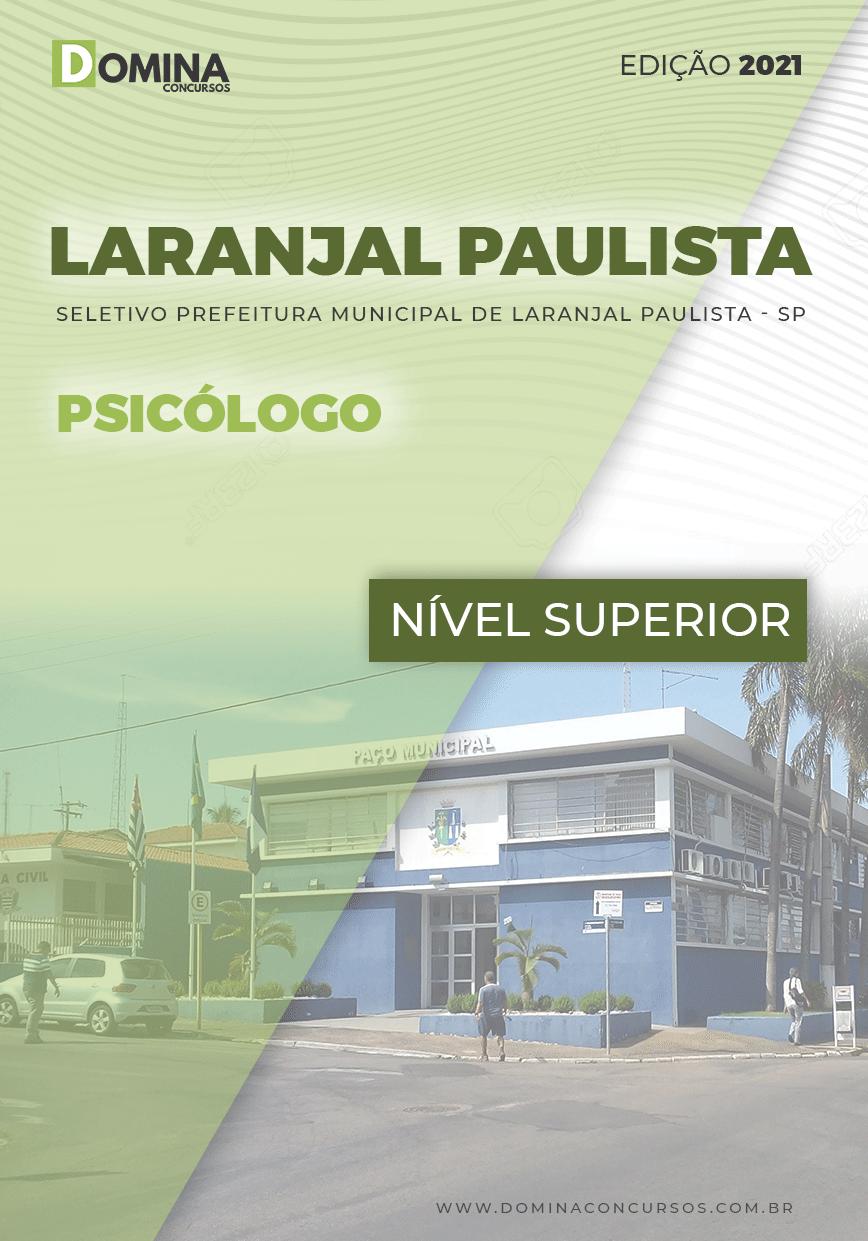 Apostila Seletivo Pref Laranjal Paulista SP 2021 Psicólogo