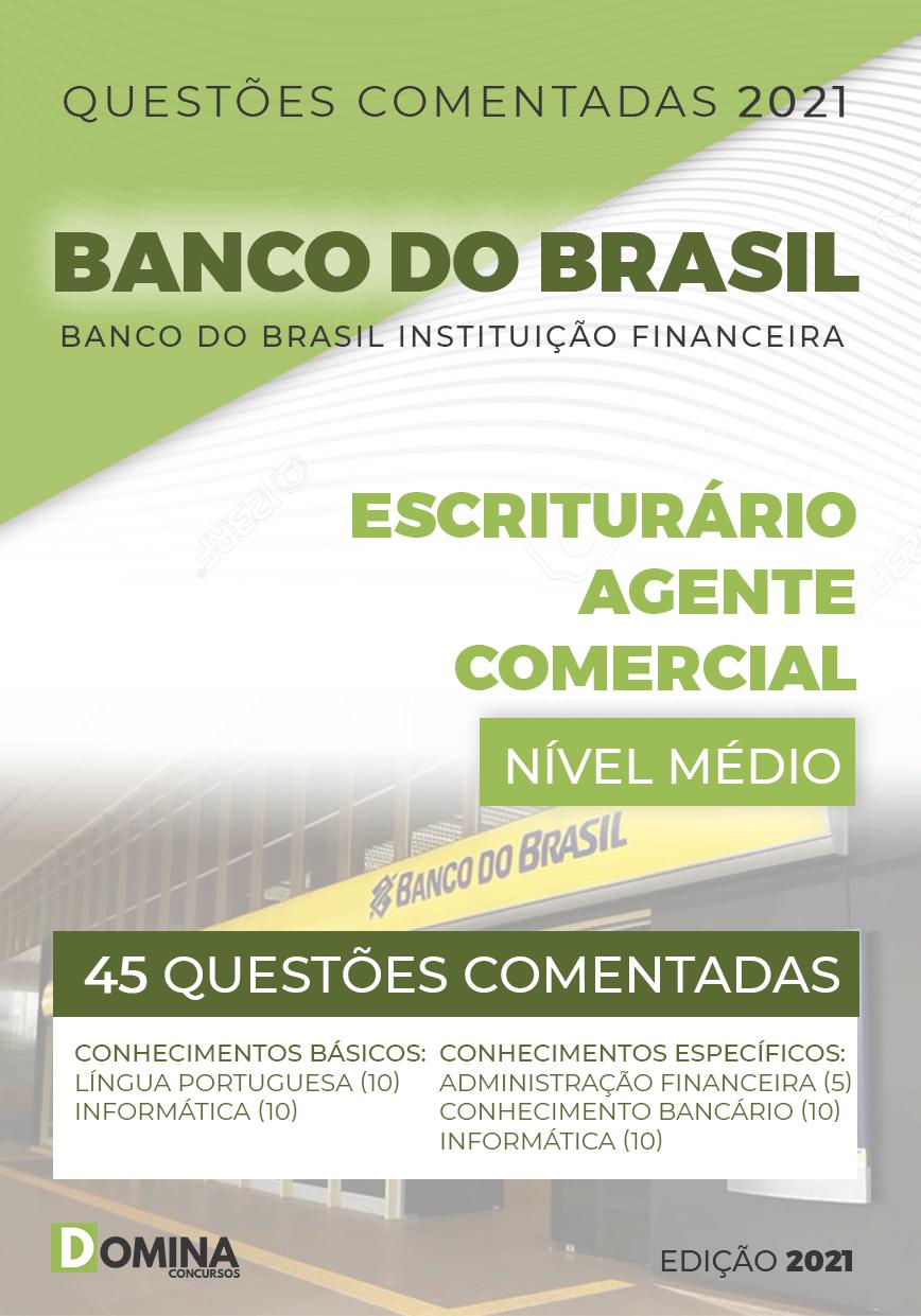 Questões Comentadas Banco Brasil BB 2021 Escriturário
