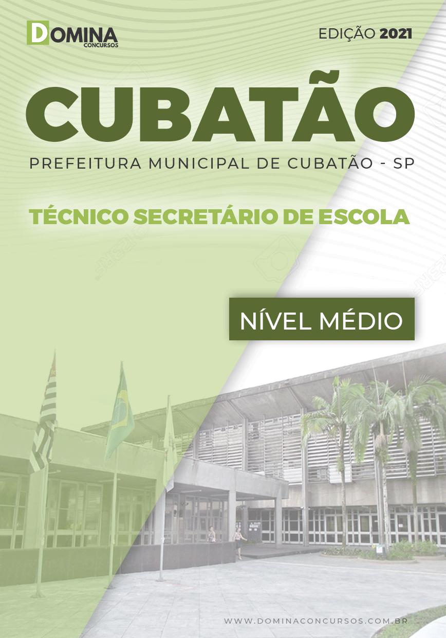 Apostila Pref Cubatão SP 2021 Técnico Secretário de Escola