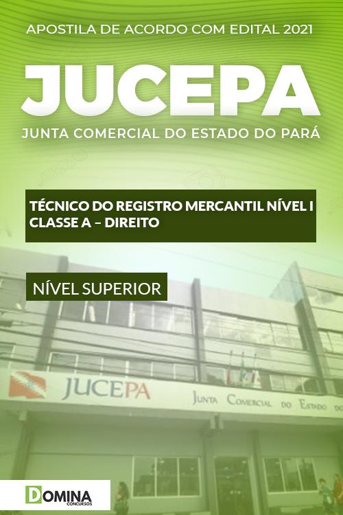 Apostila JUCEPA 2021 Técnico do Registro Mercantil Direito