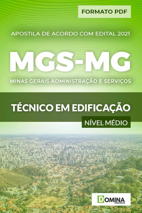 Apostila Processo Seletivo MGS MG 2021 Técnico em Edificação