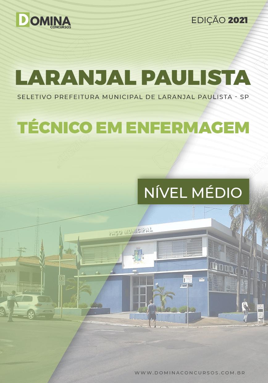 Apostila Pref Laranjal Paulista SP 2021 Técnico em Enfermagem