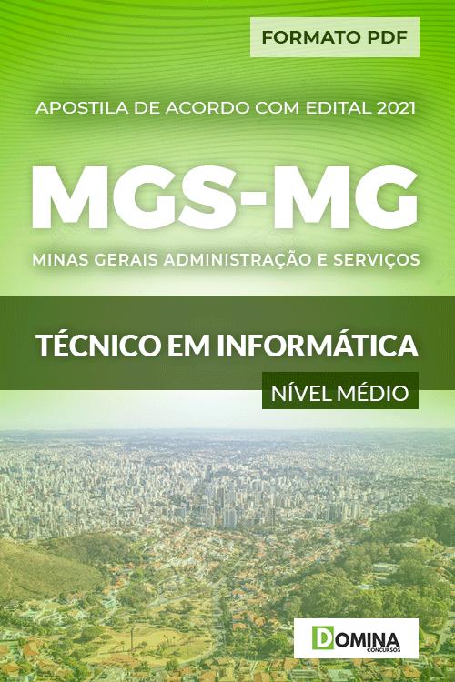 Apostila Processo Seletivo MGS MG 2021 Técnico em Informática