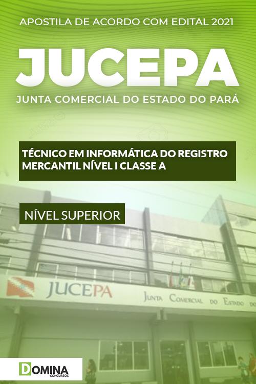 Apostila JUCEPA 2021 Técnico em Informática do Registro Mercantil
