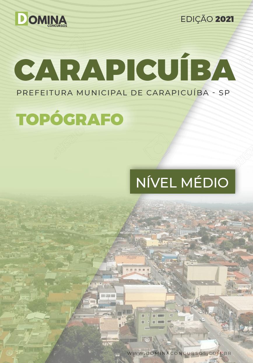 Apostila Concurso Pref Carapicuíba SP 2021 Topógrafo