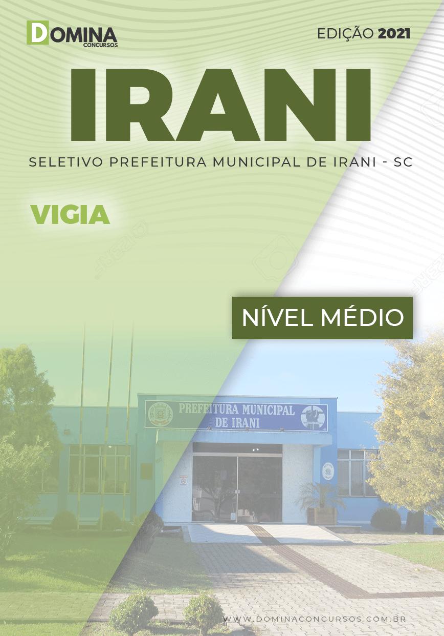 Apostila Processo Seletivo Pref Irani SC 2021 Vigia