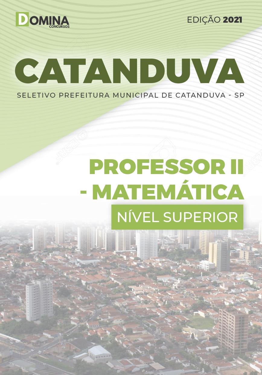 Apostila Concurso Pref Três Marias MG 2021 Professor II Matemática
