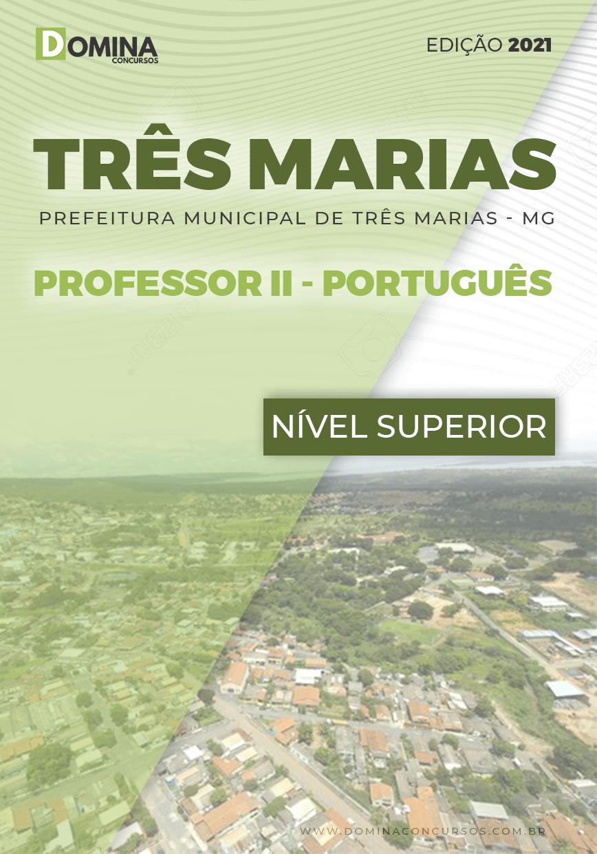 Apostila Concurso Pref Três Marias MG 2021 Professor II Português