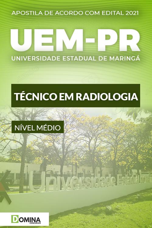 Apostila Concurso UEM PR 2021 Técnico em Radiologia