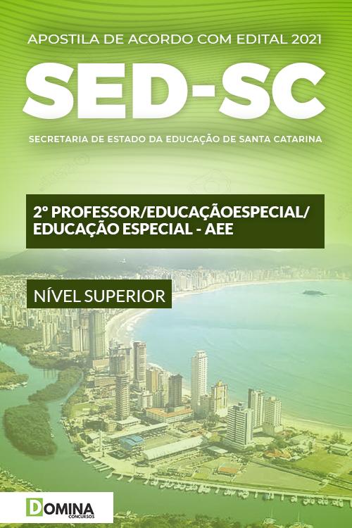 Apostila SED SC 2021 Professor Indígena Especial AEE