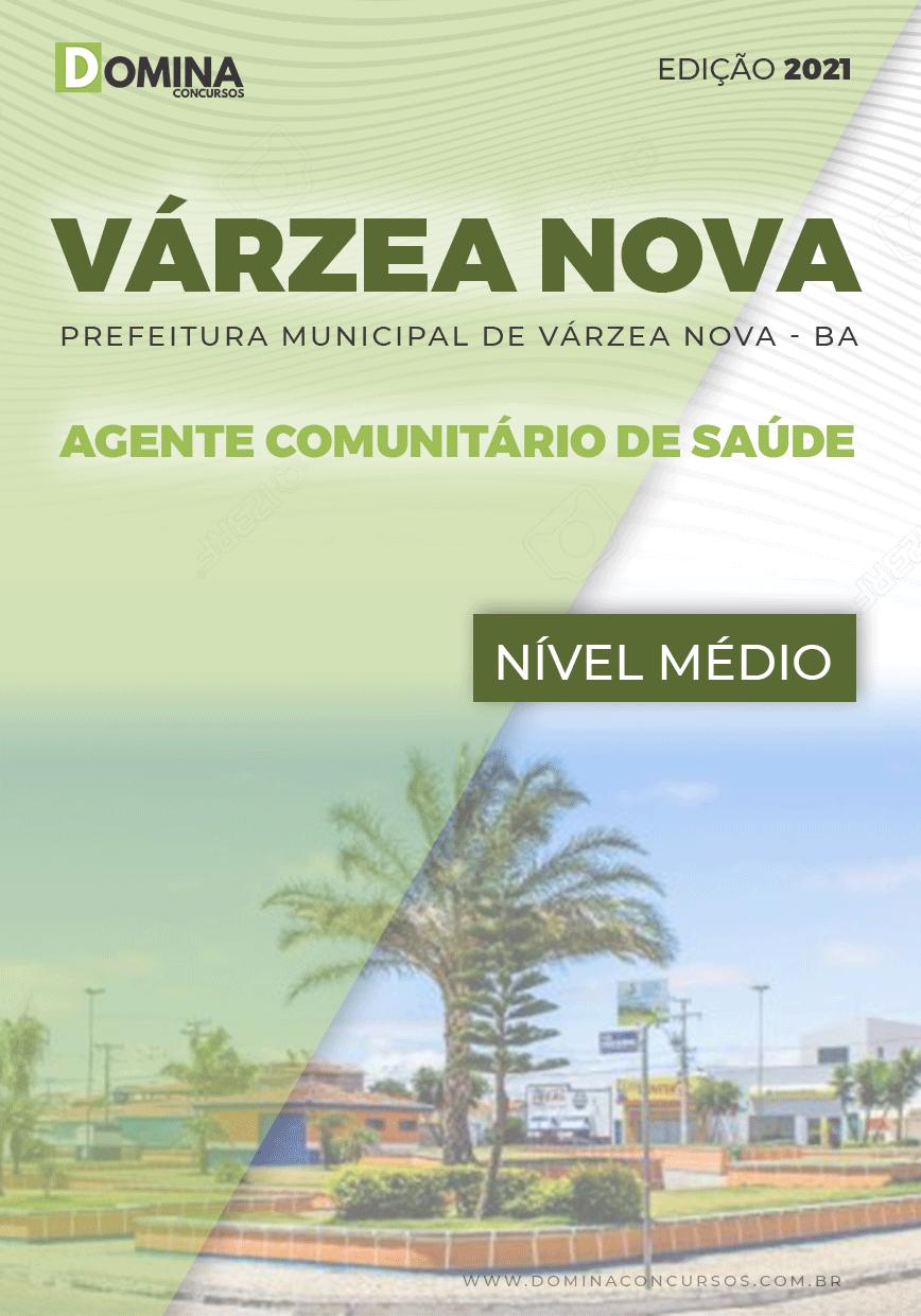 Apostila Pref Várzea Nova BA 2021 Agente Comunitário Saúde
