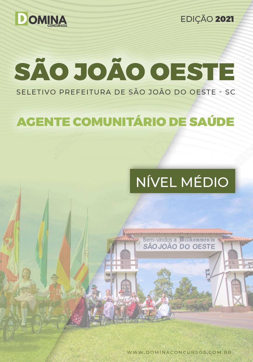 Apostila Pref São José Oeste SC 2021 Agt Comunitário Saúde