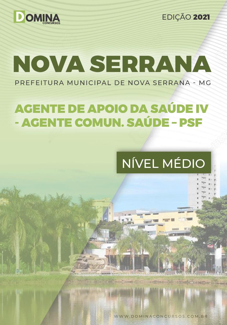Apostila Pref Nova Serrana MG 2021 Agente Comunitário Saúde