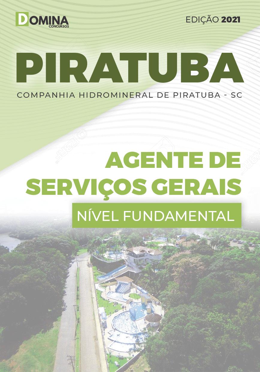 Apostila Hidromineral Piratuba SC 2021 Agente de Serviços Gerais