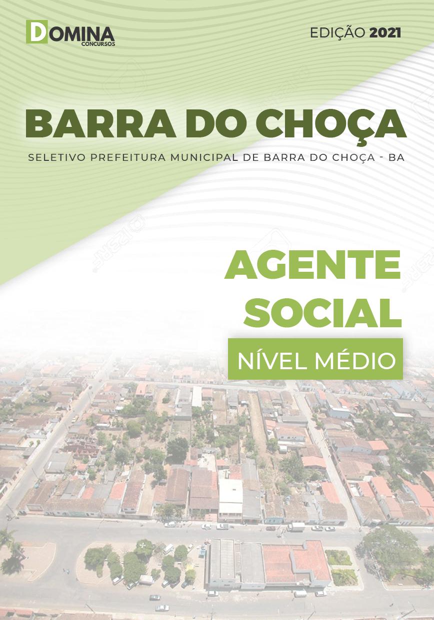 Apostila Seletivo Pref Barra Choça BA 2021 Agente Social